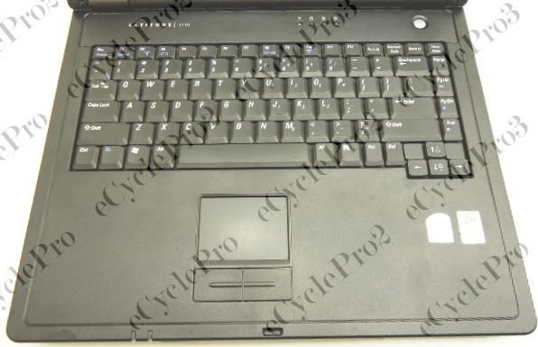 Dell Latitude 110L 14 Laptop Celeron M 1.50GHz  512MB PC 2700  40GB