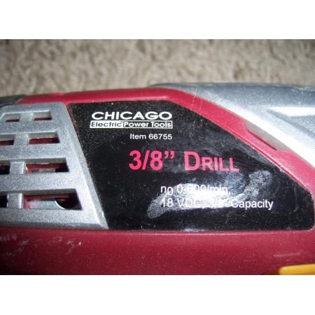 Chicago Drill Master Cordless Tools 3 Sawzaws and 2 Drills